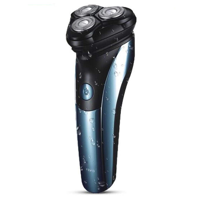 満足できるラッカス不注意回転式 ひげそり 電動 メンズシェーバー,充電式 IPX7防水 髭剃り 電気シェーバー 2019最新版 LEDディスプレイ 持ち運び便利 電気シェーバー お風呂剃り丸洗い可