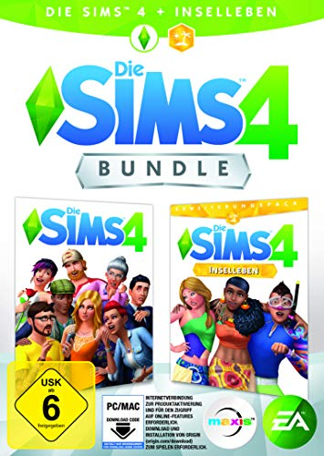 Die Sims 4 - Base Game + Inselleben Expansion, Deluxe Upgrade | PC Download - Origin Code