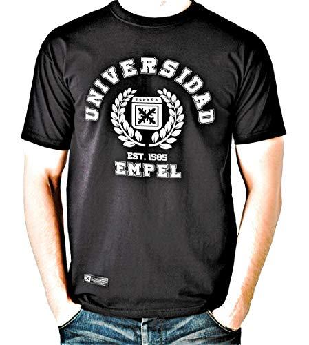 Estirpe Imperial Camiseta Universidad de Empel España (L, Negro)