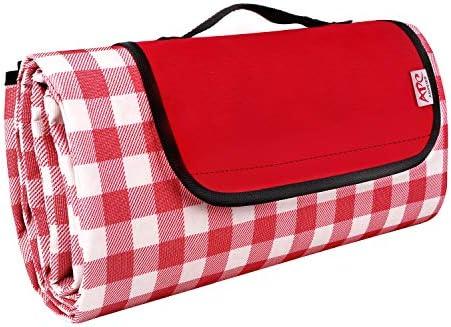 Waysse Large Picnic Blanket Extra Large Outdoor Picnic Blanket 79 x86 Beach Blanket Waterproof product image