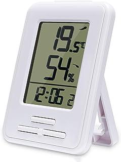 YIN YIN, La Temperatura y la higrómetro, Gran Pantalla de visualización Digital de Instrumento preciso de medición de Temp...