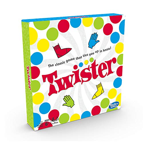 Twister Game Party Game Classic Board Game for 2 or More Players Indoor and Outdoor Game for Kids 6 and Up Packaging may vary