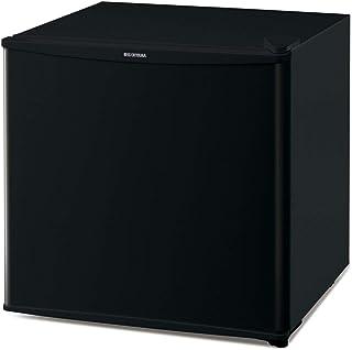 アイリスオーヤマ 冷蔵庫 45L 小型 静音 1ドア 右開き 温度調節6段階 ブラック