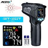 Thermomètre infrarouge Temperature Laser MESTEK Sans Contact Pistolet Temperature LCD...