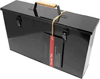 Valiant FIR240 - Maletín para guardar y transportar cenizas de horno o chimenea, color negro
