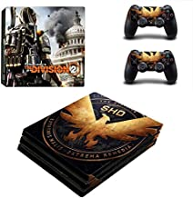Teemeow PS4 Pro Whole Body Vinyl Skin Sticker Decal Cover for Playstation 4 System Console and Controllers – Game