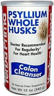 Yerba Prima Psyllium Whole Husks Colon Cleanser 12 Ounces (Multi-Pack)