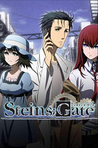 "Steins;Gate: Japanese Anime Gift For Teen Girls Boys Men Women, Anime Notebooks For School, Perfect For Drawing, Writing, To Do List, Planning.. Anime ... Lined Notebook (6""x""9 In, 100 Pages)"