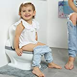 Best Flushing Toilets - PottyWin Realistic Potty-Training Toilet with Flushing Sounds Review