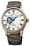 オリエント時計 腕時計 オリエントスター セミスケルトン 機械式 自動巻(手巻付) ホワイト RK-HH0003S