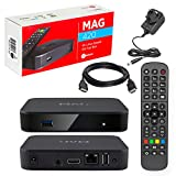 MAG 420 Original Infomir & HB-DIGITAL 4K IPTV Set TOP Box Multimedia Player