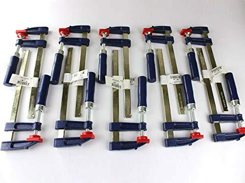 10 x Schraubzwinge Set 200x50 Zwinge Leimzwinge Klemmzwinge Einhandzwinge