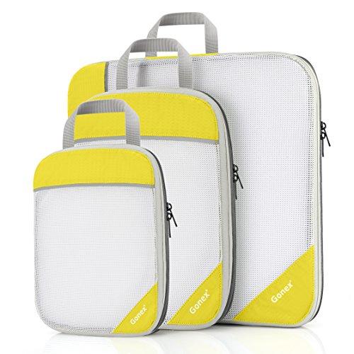 Gonex - Juego de bolsas de compresión para ropa (4 unidades, 4 piezas