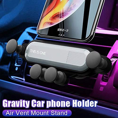 HYGLPXD Handyhalter fürs Auto Handy Halterung KFZ Handyhalterung Auto Smartphone Halterung KFZ Handy Halter für Auto für iPhone,Samsung,Huawei und jedes andere Smartphone, Autozubehör,Red - 4