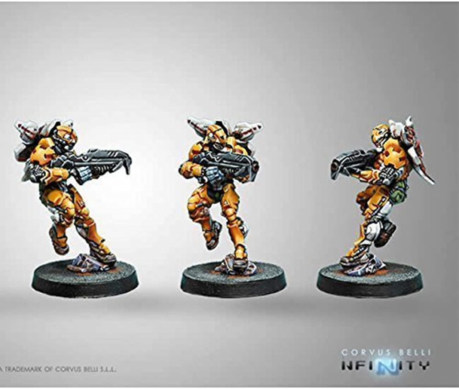 Infinity  Yu Jing Tiger Soldiers w  Spitfire by Corvus Belli