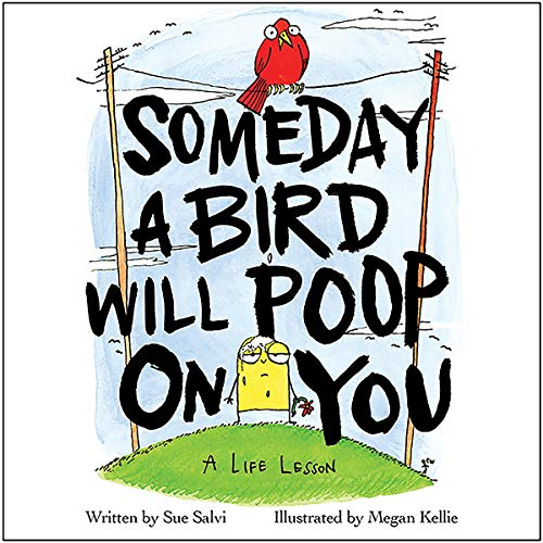 Someday a Bird Will Poop on You audiobook cover art