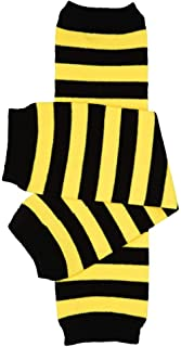 juDanzy Bumblebee Bee Black and Yellow Stripe Baby and...