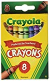 Crayola Bulk Buy Crayons 8/Pkg 52-3008 (12-Pack)