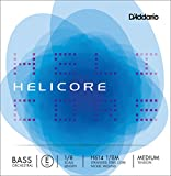 D'Addario Helicore Orchestral Bass Single E String, 1/8 Scale, Medium Tension