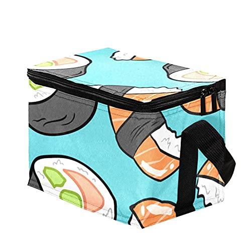 Bolsa Termica,Bolsa de Almuerzo,Bolsa de Pícnic ,Bolsa Nevera Portatil ,Bolsa Térmica Comida,Bolsa de Almuerzo Térmica Impermeable comida japonesa de sushi