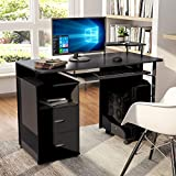 Computer Desk with Drawers, Home Office Desk, Computer...