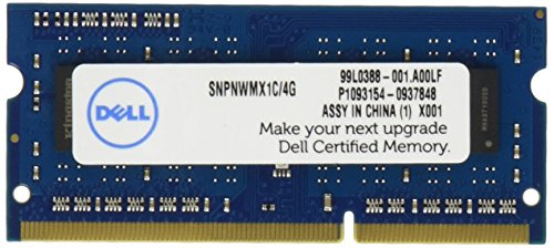 Módulo de Memoria Dell 4GB 1600MHz DDR3L SDRAM SODIMM