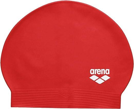 Arena Soft Latex Unisex Swim Cap for Women and Men