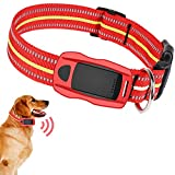 TYX-SS Cat/Pet GPS Tracker Collar,Locator Wireless Camera GPS Tracking Device Sim, Waterproof Monitor for Dogs And Cats,Red