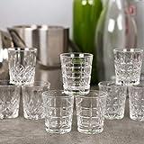 Queensway Shot Glasses (6X Marina Shot Glasses)