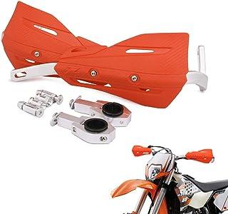 22mm and 28mm Aluminum Universal Handguards For Motocross Dirt Bike KTM EXC EXCF SX SXF SXS MXC MX XC XCW XCF XCFW EGS Enduro (Orange)