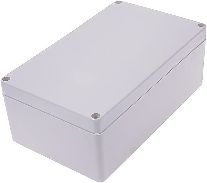 80x50x21mBPRE 2pcs NEW White Plastic Electronic Project Box Enclosure case DIY