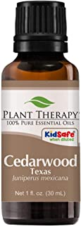 Plant Therapy Cedarwood Texas Essential Oil 30 mL (1 oz) 100% Pure, Undiluted, Therapeutic Grade