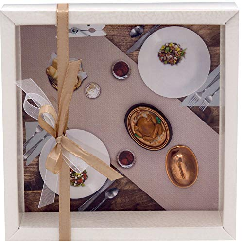 ZauberDeko Geldgeschenk Verpackung Restaurant Essen Hühnchen Gutschein Restaurantgutschein Einladung Weihnachten