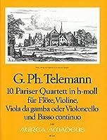 TELEMANN - Cuarteto en Si menor (TWV:43/h2) (Partitura/Partes)