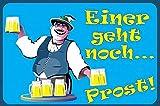 Fanshop Lünen Fahne - Flagge - Bier - Einer geht noch Prost - Krug - Bierkrug - 90x150 cm - Hissfahne mit Ösen -