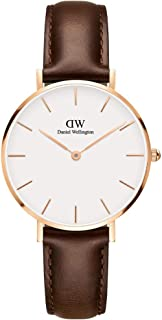 Petite Bristol Rose Gold Watch, 32mm, Leather, for Men and Women