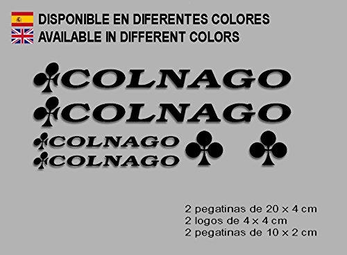 MTB Stickers Bike, Nero Ecoshirt TN-CL0Z-GV06 Adesivi Colnago Dr1091 Vinile Adesivi Decal Aufkleber