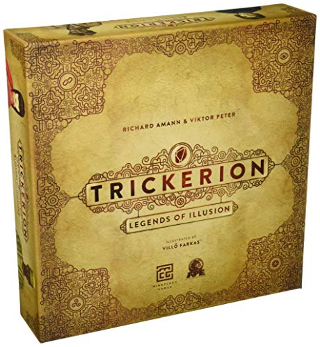 Ape Games APE02500 Brettspiel Trickerion