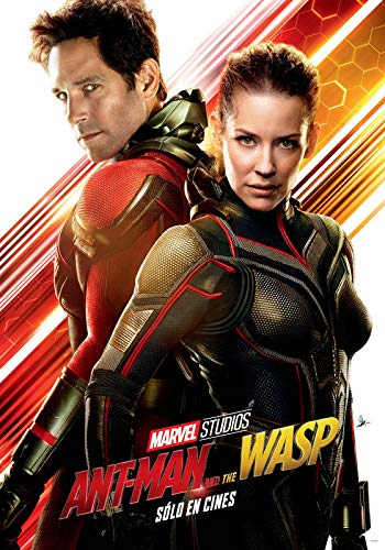 ANT Man and The WASP – Spanish Movie Wall Poster Print - A4 Size Plakat Größe