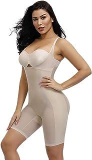 SURVL Shapewear for Women Tummy Control Fajas Colombianas Postpartum Body Shaper Open Bust Breathable Bodysuit