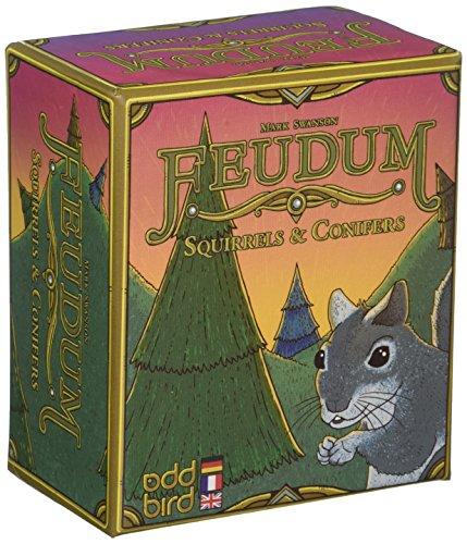 Odd Bird Games Feudum Squirrels & Conifers - English