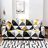 L.TSA Funda de sofá elástica para Muebles, elástica para Sala de Estar Funda de sofá seccional Universal Funda de sillón-5_90-140cm, Funda de sillón elástica