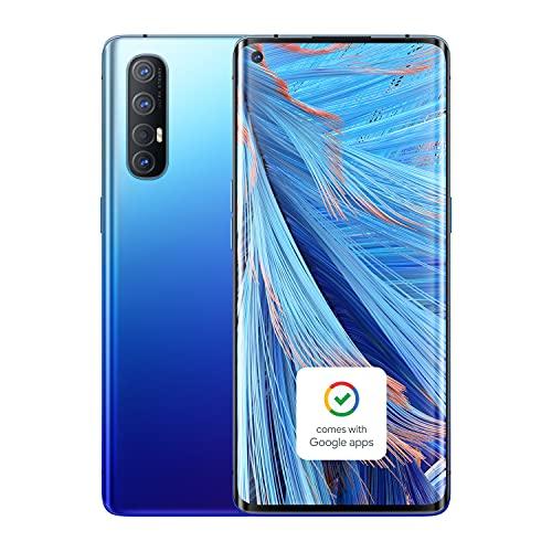 OPPO Find X2 Neo (5G) CPH2009 Single-SIM 256GB + 12GB RAM (GSM Only   No CDMA) Factory Unlocked Smartphone - International Version (Starry Blue)