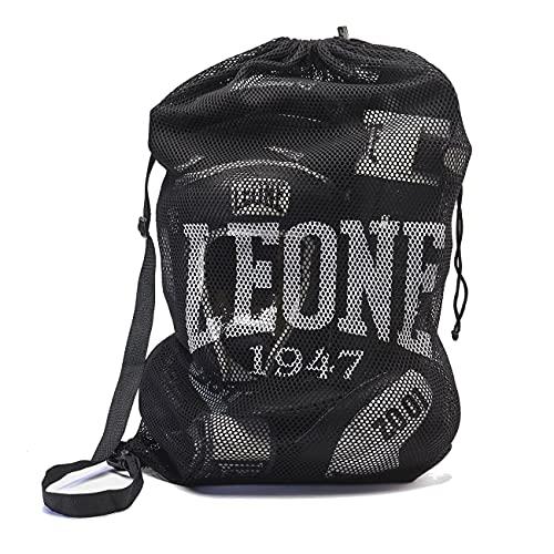 Leone 1947 Mesh Bag Schultertasche - Sporttasche Trainingstasche Gym Tasche für Kampfsport Fitness Boxen Muay Thai Fitness Sportbeutel
