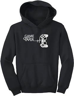 Tstars - ゲームファンにプレゼント ゲームギークにギフト ゲーム大好き人間贈り物 クールゲームファンプレゼントユニークゲーム キッズパーカー