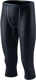 おたふく手袋 ボディータフネス 冷感 パワテコ 7分丈パンツ JW-631 ブラック L