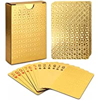 EAY Gold Foil Plastic Playing Cards Deck