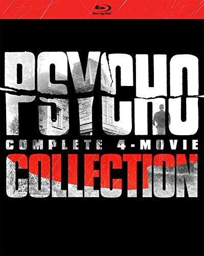 Psycho: Complete 4-Movie Collection (Blu-ray) $12.99 @ Amazon