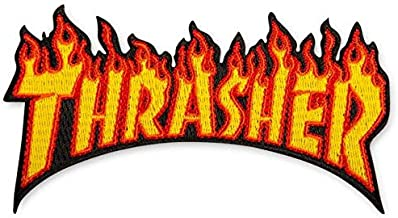 Best thrasher iron on patch Reviews