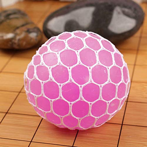 HEHEHEHEHEHEEM Squishy Ball Spielzeug Stress Relief Squeezing Soft Rubber Vent Grape Ball für...